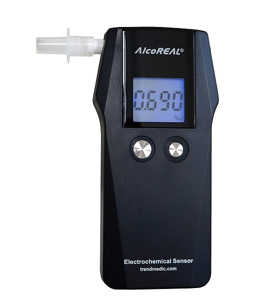 Picture of Breathalyzer AT575 / AlcoReal according Standard EN 16280 - refurbished