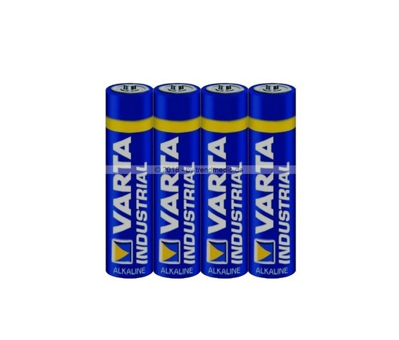 Picture of Alkaline batteries type AAA 1.5V 4-pack