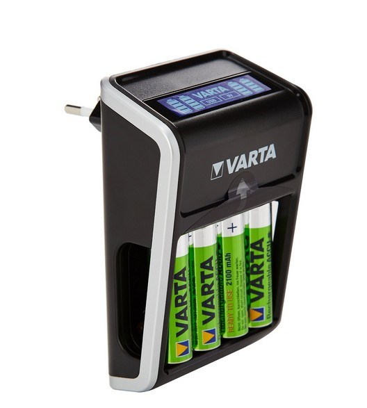 Picture of VARTA rechargeable Batteries + Charger