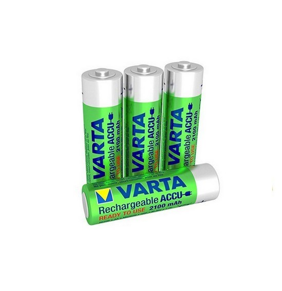 Picture of rechargeable battery type AA 1.2V 4-pack