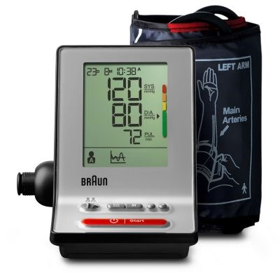 Picture of Braun BP6100 ExactFit 3 upper arm blood pressure monitor